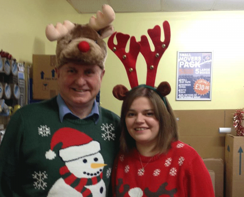 Apex Christmas Jumper day