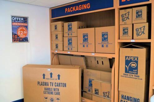Apex Self Storage Boxes
