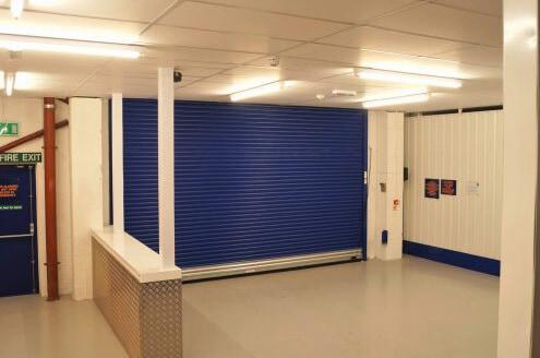 Apex Storage Loading Bay Interior