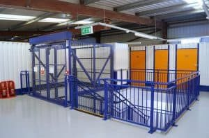 Commercial storage at Apex Self Storage