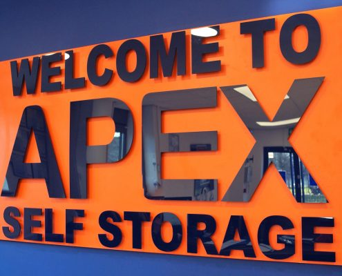 Apex Self Storage reception