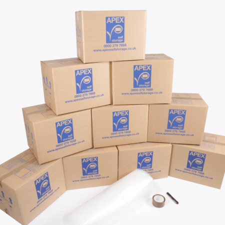 10 Cardboard Boxes