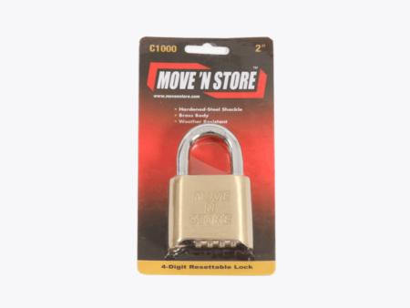 Combination Padlock - Move n Store
