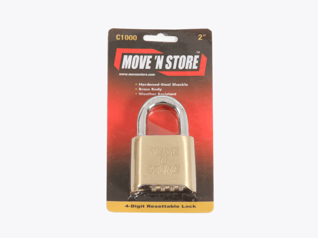 Combination Padlock - Move n Store