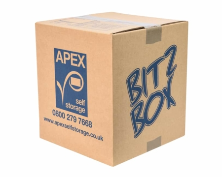 Cardboard Box - Bitz Box - Apex Self Storage