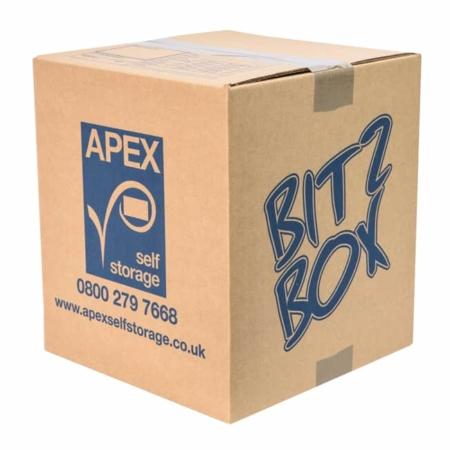 Cardboard Box - Bitz Box - Apex Self Storage
