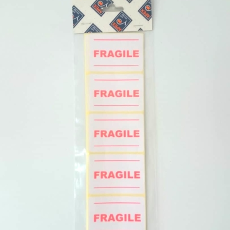 Fragile Sticky Labels