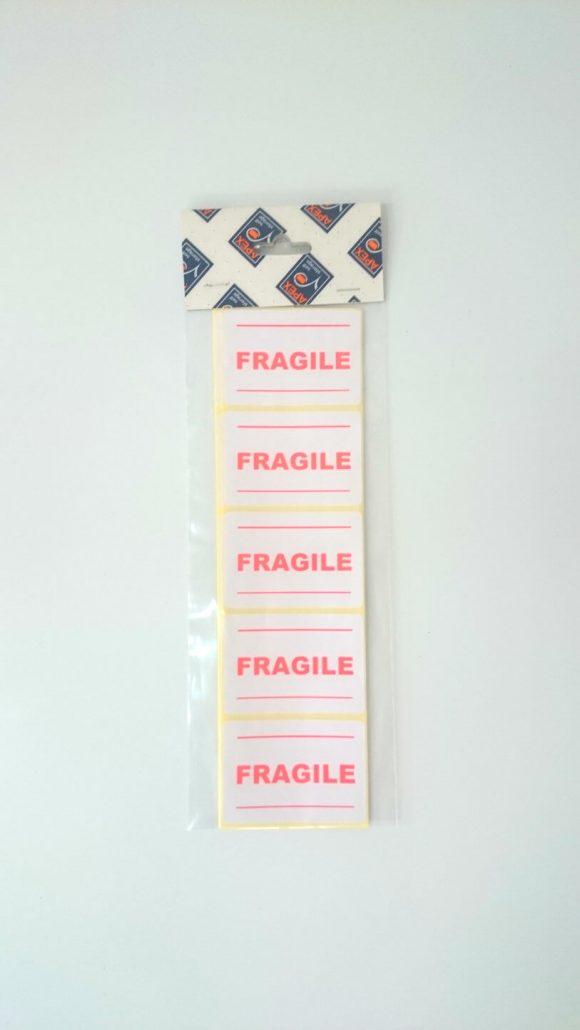 Fragile Sticky Labels