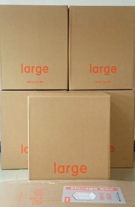 Large packaging boxes