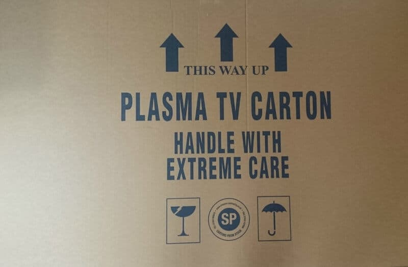 Plasma TV Box