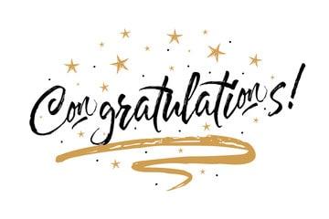Congratulations - Winner