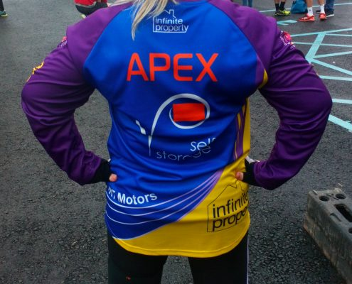 Apex Storage staff take on survival of the fittest
