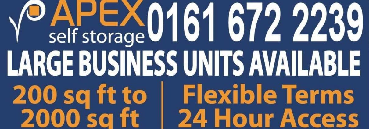 Apex Self Storage Ad Banner
