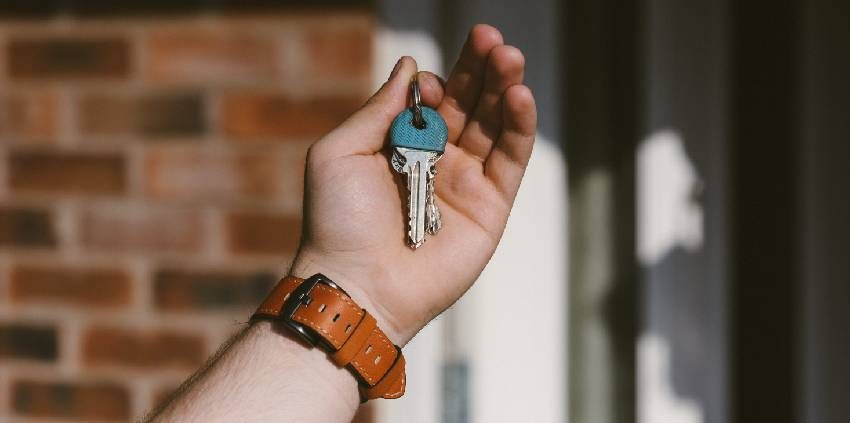 first time buy house keys