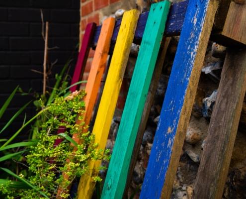 Rainbow Pallet